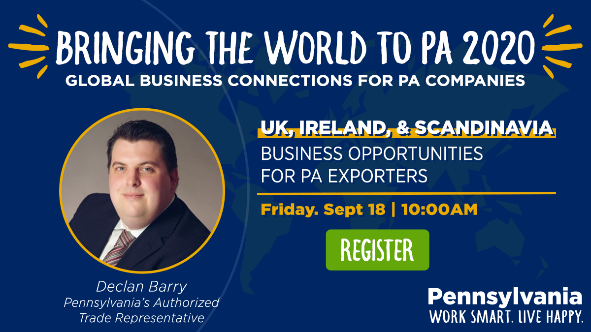 UK Ireland & Scandinavia BTW2PA Webinar