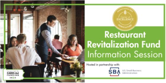 Restaurant Revitalization Fund Information Session