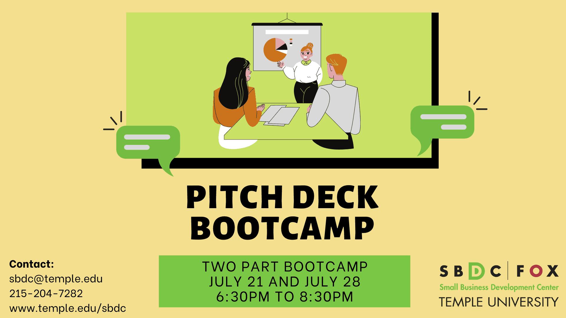 Pitch Deck Bootcamp