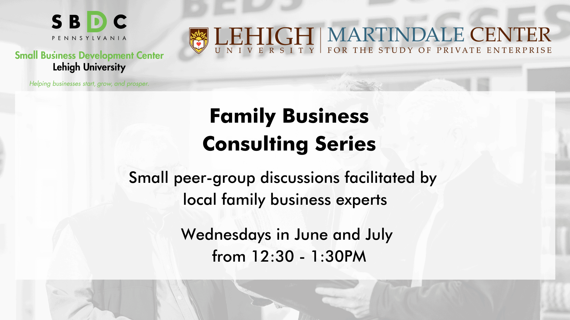 Family Business Consulting Series