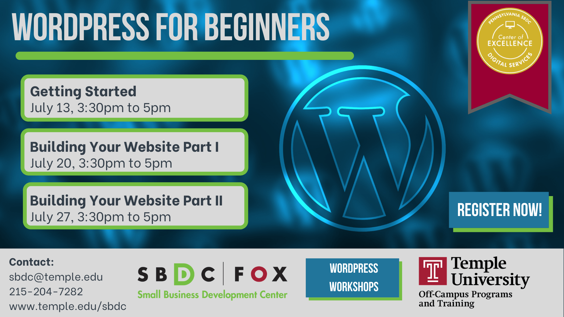 WordPress for Beginners: Building Your Site Part 2