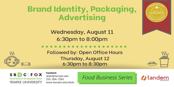 Brand Identity, Packaging, Advertising