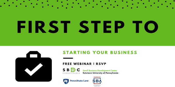First Step to Starting Your Business