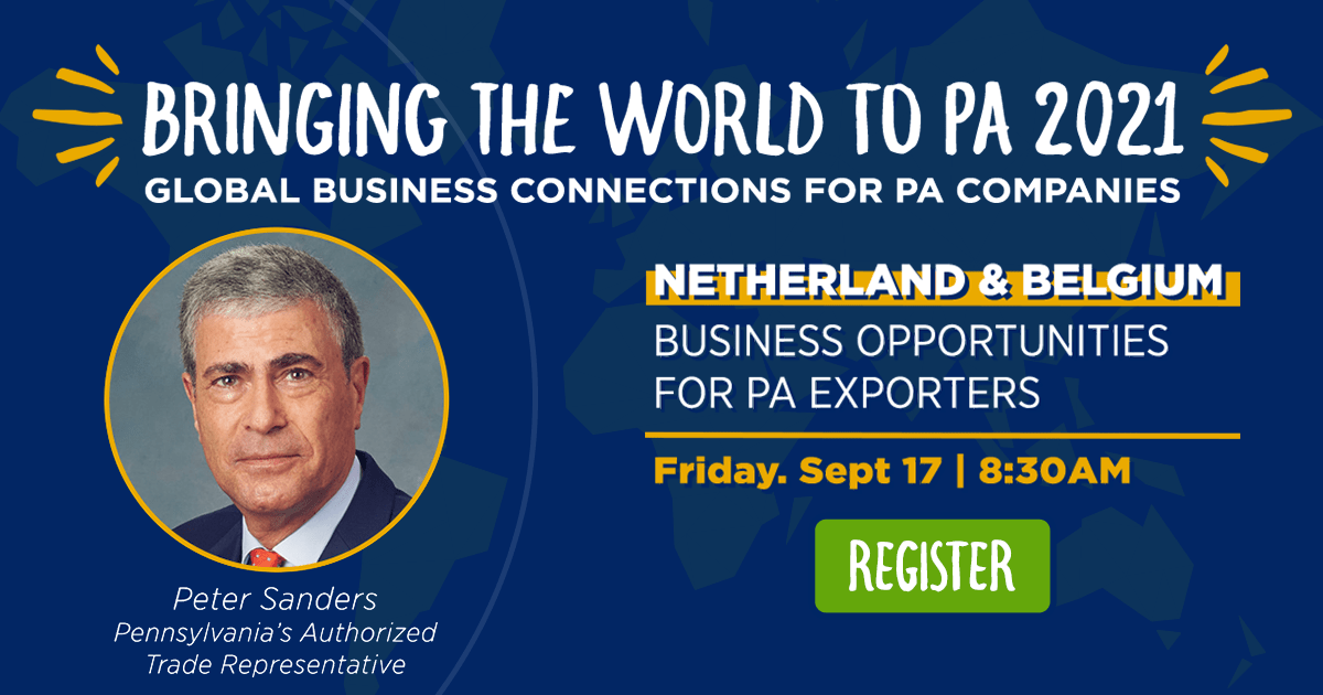 The Netherlands & Belgium: Business Opportunities for PA Exporters