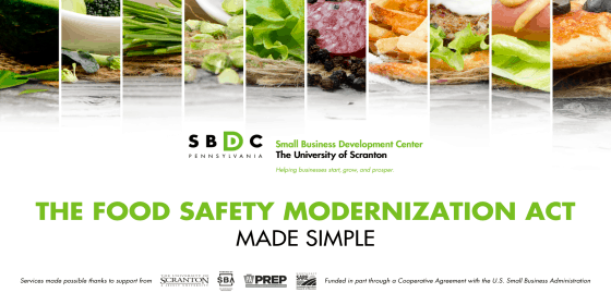 The Food Safety Modernization Act Made Simple