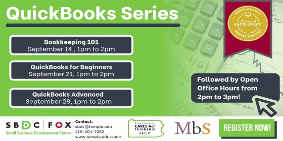 QuickBooks Series: QuickBooks for Beginners