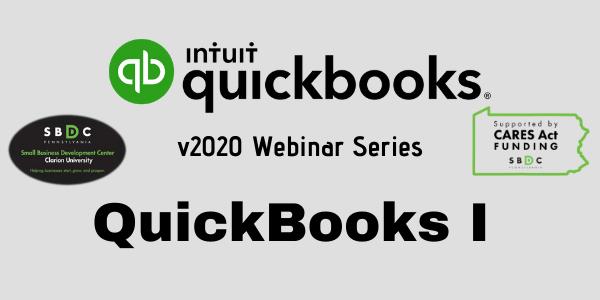 QuickBooks 2020 Level I